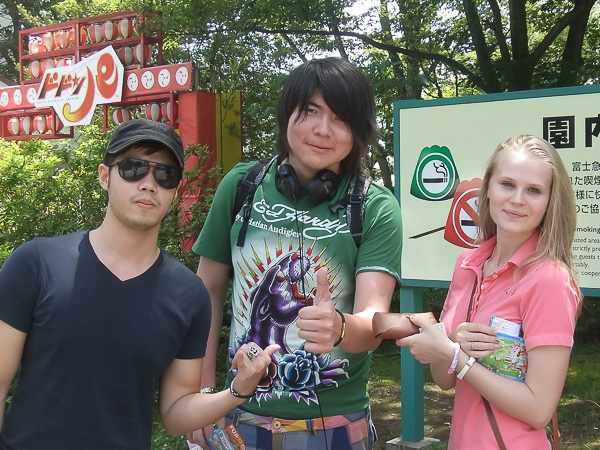 Летние каникулы в Японии